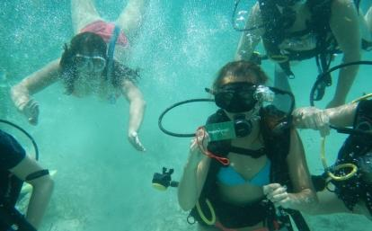 Diving conservation work in Belize for groups